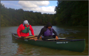 Canoeing on Deep River