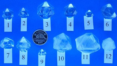 CIC Crystal Growing Contest - Winning Alum Crystals 2011