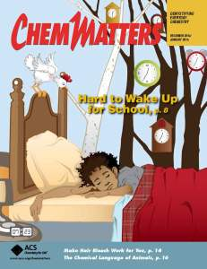 ChemMatters Cover - Dec. 2014