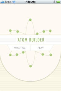 Atom Builder Screen Shot